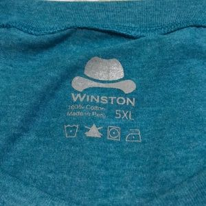 Winston Box Shirts - Heathered Teal Long Sleeve